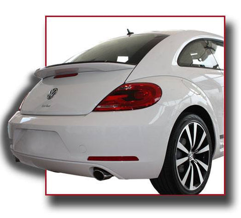 Rear Spoilers - Volkswagen Beetle Factory Flush No Light Spoiler (2012 And UP)