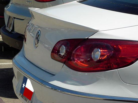 Rear Spoilers - Volkswagen CC Custom Lip No Light Spoiler (2009 And UP)