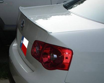 Rear Spoilers - Volkswagen Jetta Custom Lip No Light Spoiler (2005.5-2010)