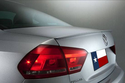 Volkswagen Passat Factory Lip No Light Spoiler (2012-2019) - DAR Spoilers