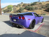"Chevrolet Corvette (C6) ""Wickerbill"" Custom No Light Spoiler (2005-2013) - DAR Spoilers"