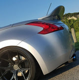 "Nissan 370Z Roadster Convertible ""Texas Twister"" Custom Duckbill Spoiler (2010 and Up) - DAR Spoilers"