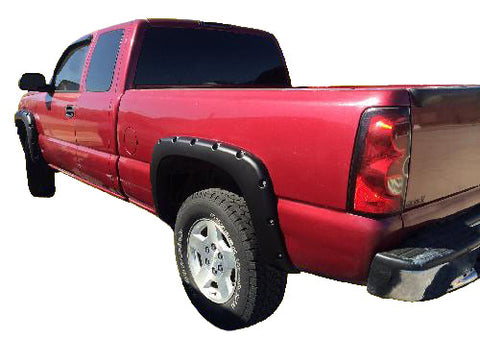 "Chevrolet Avalanche ""Non Body Cladding"" Pocket Style Fender Flares (2002-2006)"
