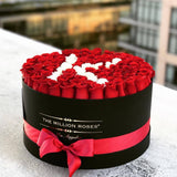The Million Roses Europe - The Million Large - Custom Personalised Box Delivered Anywhere in Europe