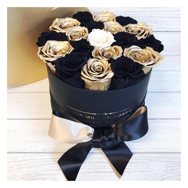 Small - Custom Personalised Box - The Million Roses Europe