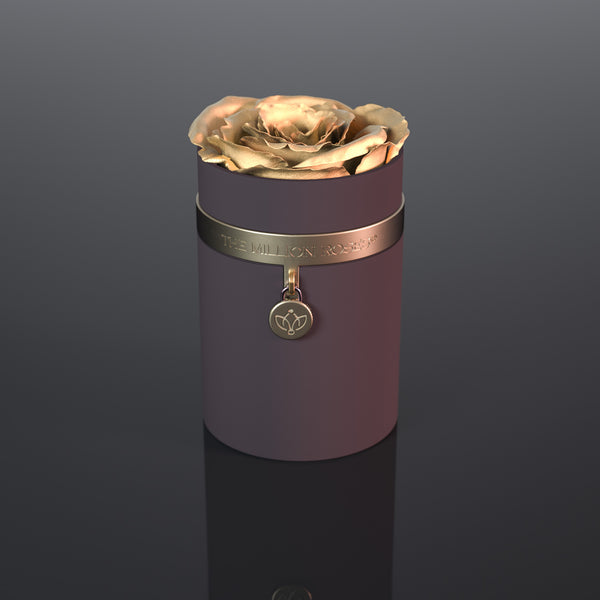 one in a million™ - coffee box / gold ring / gold charm - The Million Roses Europe