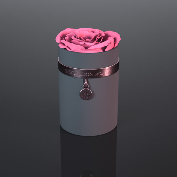 one in a million™ - gray box / nickel ring / nickel charm - The Million Roses Europe