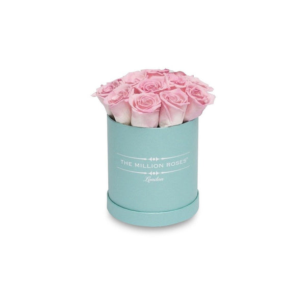 The Million Basic - Candy Pink Eternity Roses - Tiffany Blue Box