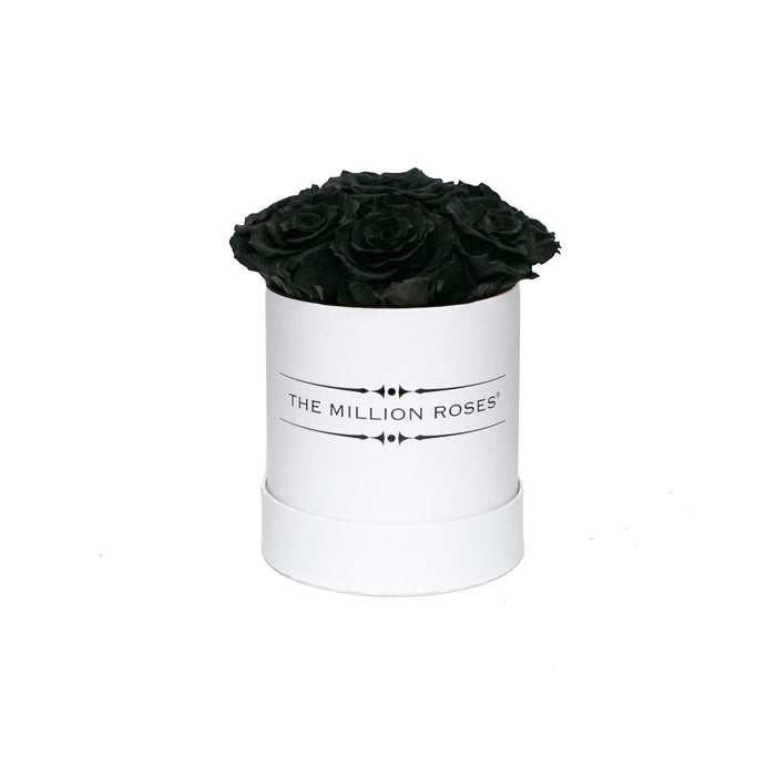 The Million Basic - Black Eternity Roses - White Box
