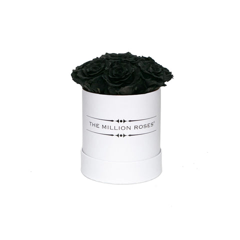 The Million Basic - Black Eternity Roses - White Box - The Million Roses Europe