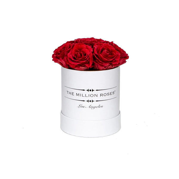 The Million Basic - Red Eternity Roses - White Box - The Million Roses Europe