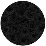 LOVE Classic - Black Eternity Roses - The Million Roses Europe