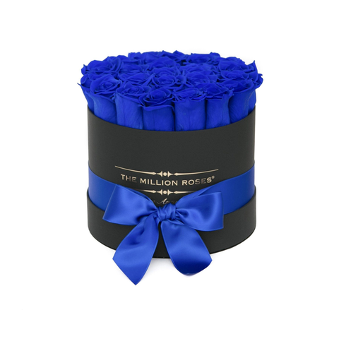 Classic - Blue Eternity Roses - Black Box - The Million Roses Europe
