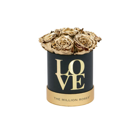 "The Million Basic - ""LOVE Collection"" Limited Edition With Gold Roses - The Million Roses Europe"