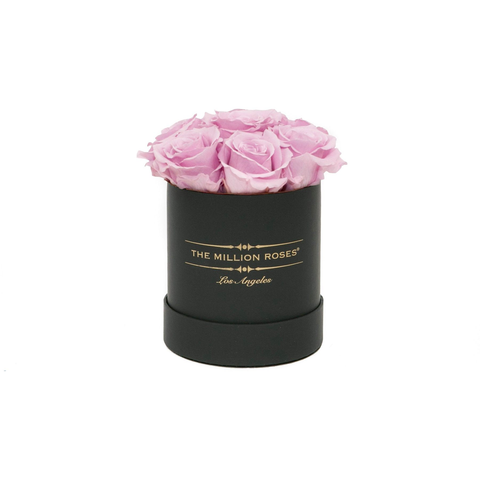The Million Basic - Candy Pink Eternity Roses - Black Box - The Million Roses Europe