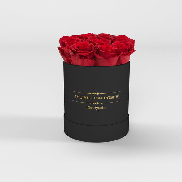 The Million Basic - Red Eternity Roses - Black Box - The Million Roses Europe