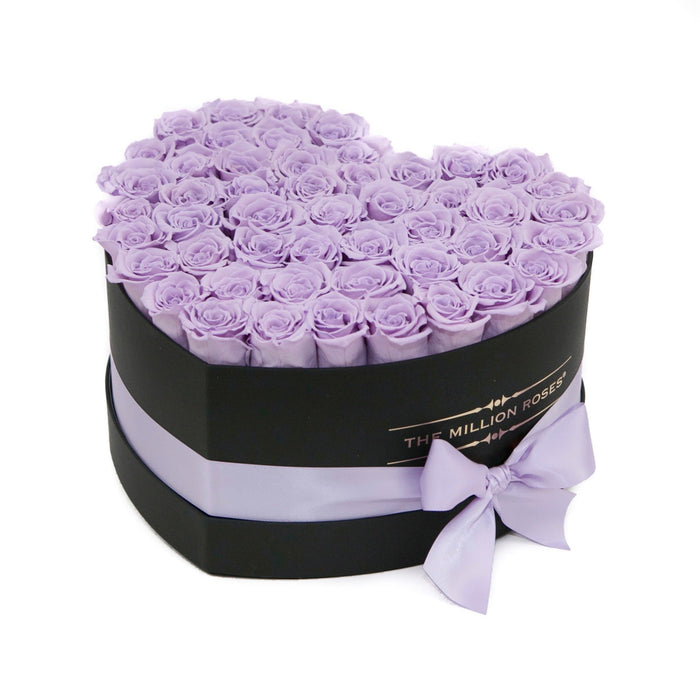 Heart - Levander Eternity Roses - Black Box - The Million Roses Europe - Italia, France, Österreich, Deutschland, Espana