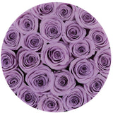 Classic - Lavender Eternity Roses - Black Box - The Million Roses Europe