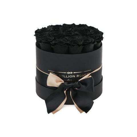 Small - All Black Edition - The Million Roses Europe