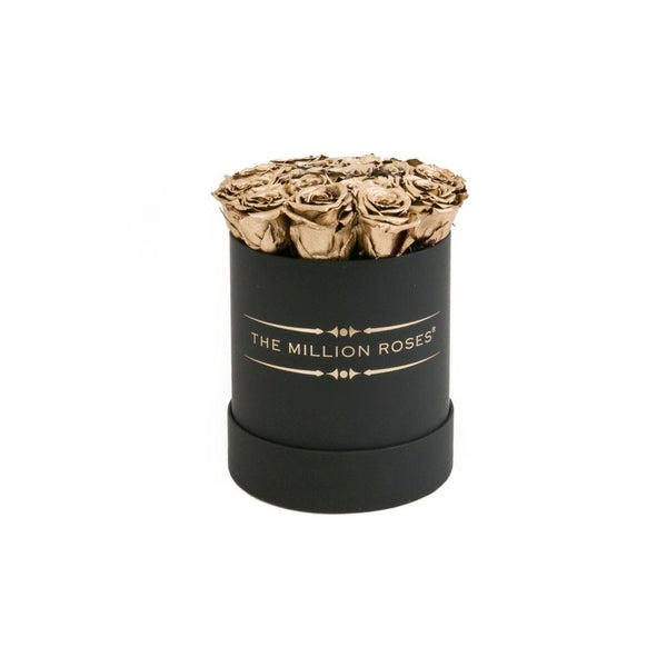 The Million Basic - Gold Eternity Roses - Black Box - The Million Roses Europe