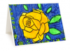 Pack of 8 4x6 Greeting Cards- Flower