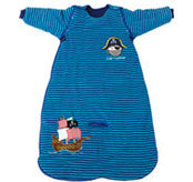 3.5 Tog Pirate Travel Sleeping Bag 18-36 months