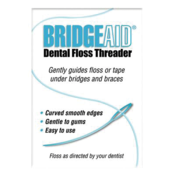 BridgeAid Dental Floss Threader 1000/Bx
