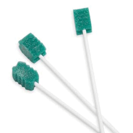 DentaSwab - Oral Swabs With Dentifrice, Mint, N/S 250/bx