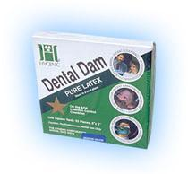 Dental Dam 6x6 Green 36/Bx
