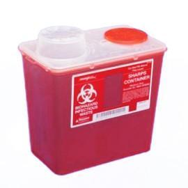 Monoject - Sharps Container Red - 4 Quart Ea