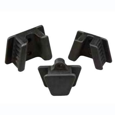 Mouth Props Rubber Black 2/Pk