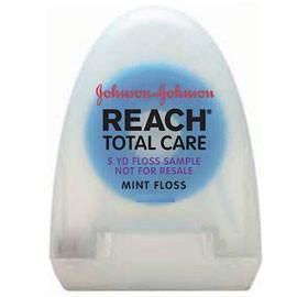 Dental Floss Total Care w/Listerine - Mint - 5yd - 72/Bx