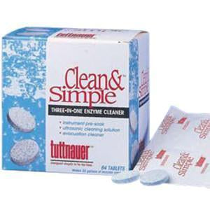 Clean & Simple Tablets 144/Bx