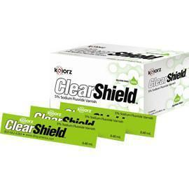 Kolorz ClearShield Fluoride Varnish Carmel Flavour