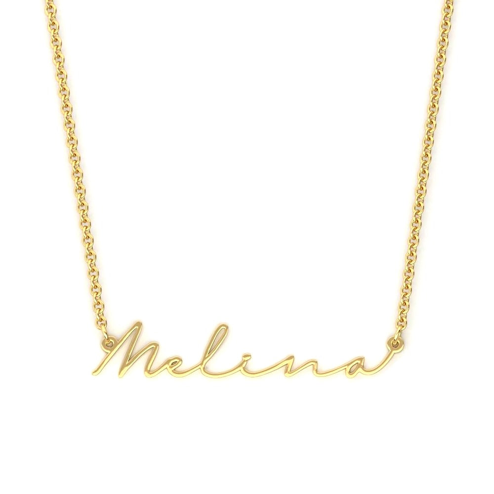 Personalized Amore Name Necklace