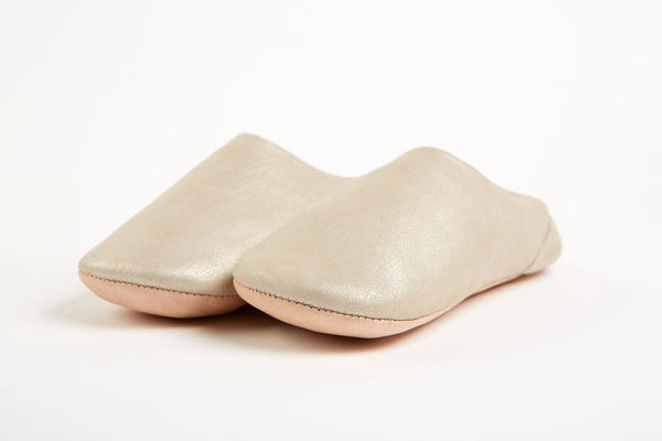 Leather Slippers - Medium