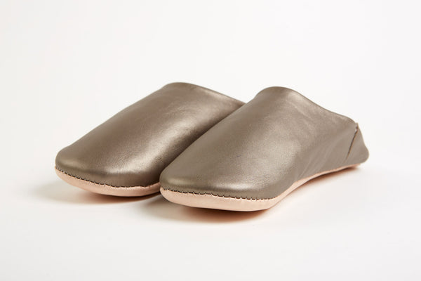 Leather Slippers - Small