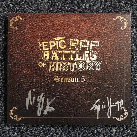 ERB Season 5 CD (SIGNED)
