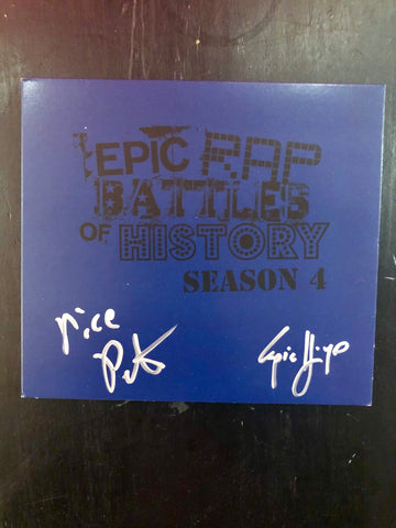 ERB Season 4 CD (SIGNED)