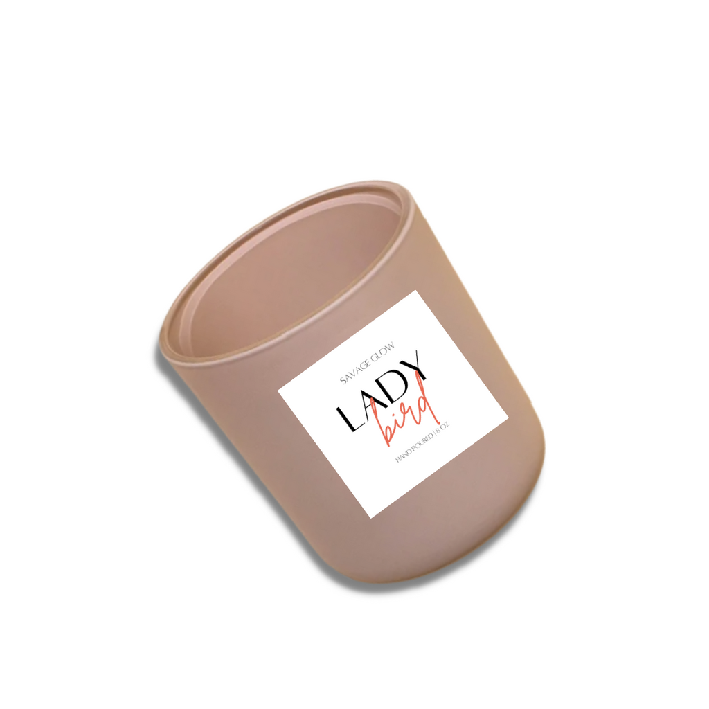 Lady Bird Wood Wick Candle