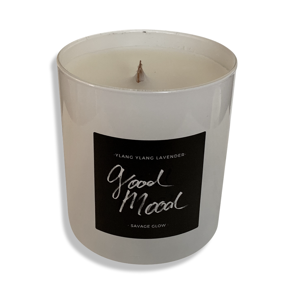 Good Mood Wood Wick Candle