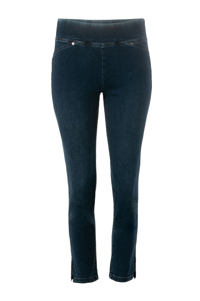 Verge Vanity Capri in Night Indigo