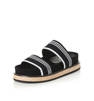 Alias Mae Jenna Flatform in Black/ White