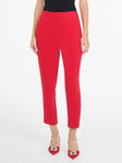 Luxe Deluxe Bordeline Pant in Crimson