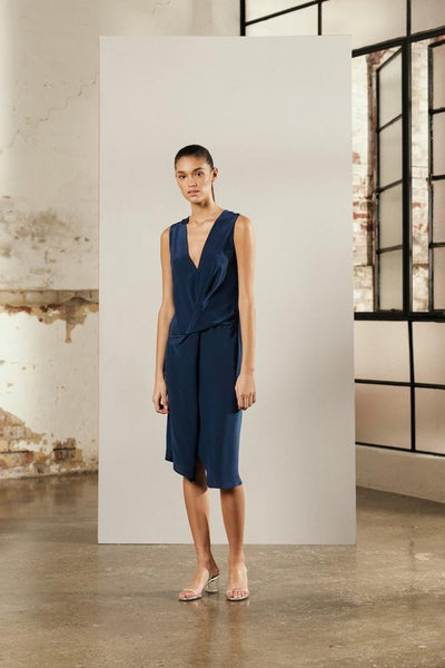 One Fell Swoop Rendez-Vous Dress in Eclipse Silk