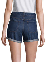 J Brand Johnny  Mid-Rise Rolled Short in Doubletake