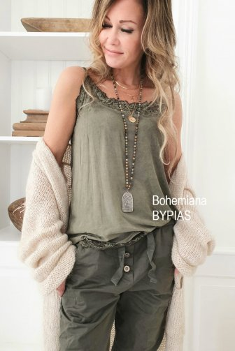 Bypias Nicole Top in Olive