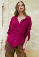 Mes Demoiselles Paris Exaclibur Shirt in Fushia
