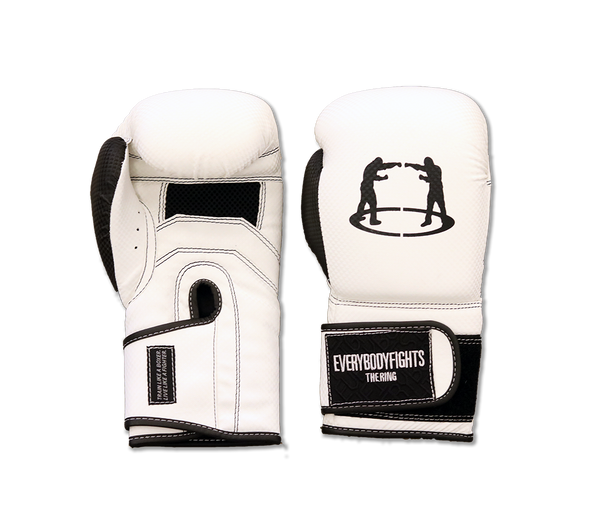 The Fighter's Boxing Glove - L/XL (White)