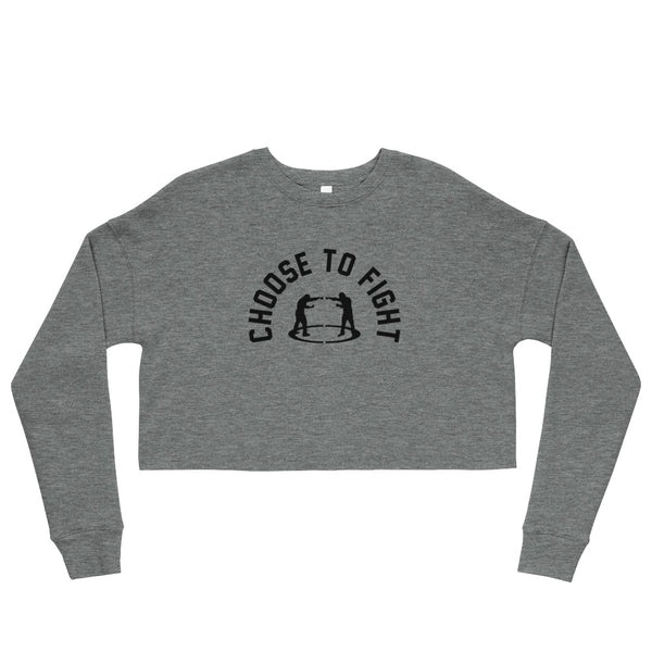 *New* - EverybodyFights Crop Sweatshirt